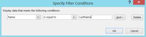 FilterDataLastName